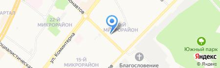Лариса на карте Ангарска