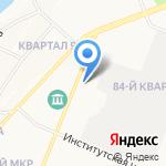 Жилищное управление на карте Ангарска