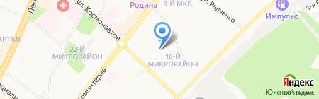 Детский сад №42 на карте Ангарска