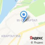 Детский сад №57 на карте Ангарска