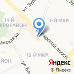 Скворушка на карте Ангарска