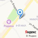 Антикварная Лавка на карте Ангарска