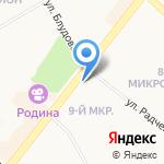 Юридическая фирма на карте Ангарска