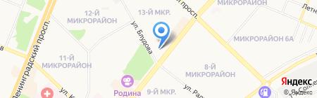 Альма-матер на карте Ангарска