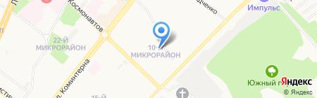 Шафран на карте Ангарска