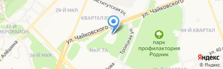 ДИТЭКО на карте Ангарска