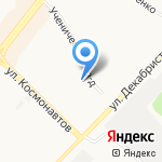 Мебельная фабрика на карте Ангарска