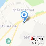 Чакра на карте Ангарска