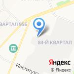 АнгарскАвтоКом на карте Ангарска