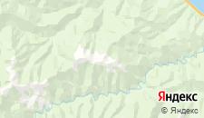 Отели города Мангутай на карте