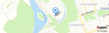 Аллюр на карте Ангарска