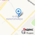 Алиса на карте Ангарска