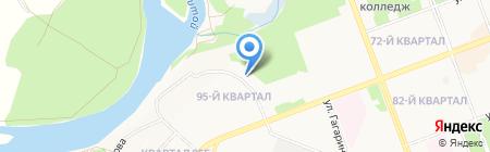 Роспотребнадзор на карте Ангарска