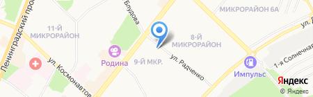 Выкрутасы на карте Ангарска