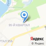 Бочка на карте Ангарска