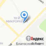 Регионснаб на карте Ангарска