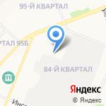 Партнер-М на карте Ангарска