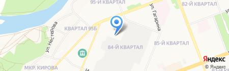 Торг НК на карте Ангарска