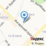 Хмельной уголок на карте Ангарска