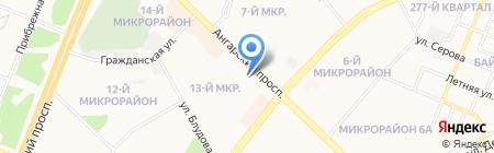 Магазин на карте Ангарска