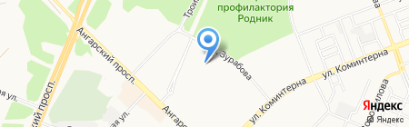 ПИРОЖКОВАЯ на карте Ангарска
