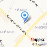 Эко-хим на карте Ангарска