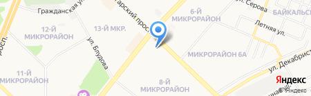 Didara Studio на карте Ангарска