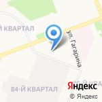 Бренн на карте Ангарска