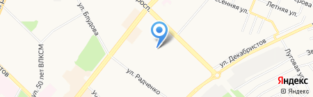 Новая Я на карте Ангарска
