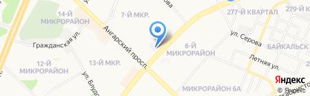 Транснефть-Восток на карте Ангарска