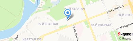 Ангарская областная станция переливания крови на карте Ангарска