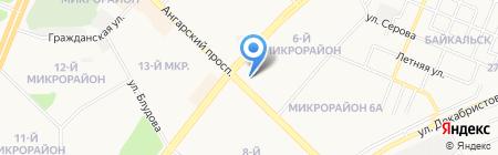От 15 минут на карте Ангарска