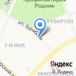 Таксопарк №1 на карте Ангарска