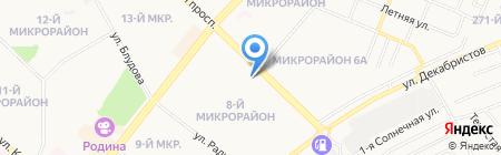 Банкомат МДМ Банк на карте Ангарска