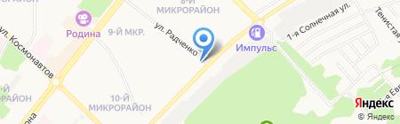 Архивный отдел на карте Ангарска
