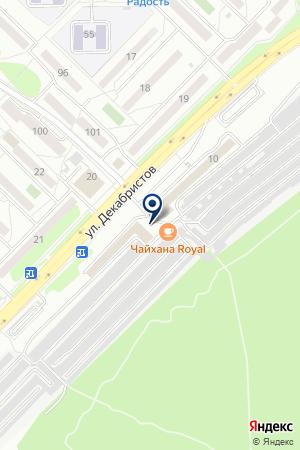 Superdeshman на карте Ангарска