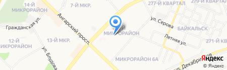 Ипотечное агентство города Ангарска на карте Ангарска