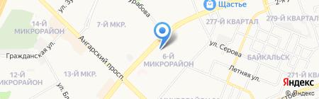 Media land на карте Ангарска