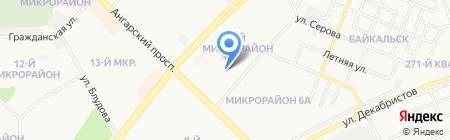 Рембыттехника на карте Ангарска