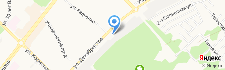 ЭкоСистем-Ангара на карте Ангарска