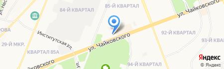 Ольга на карте Ангарска