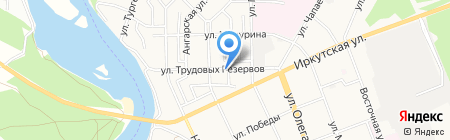 Фо-Дзинь на карте Ангарска