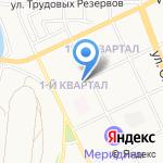 1 отдел полиции на карте Ангарска