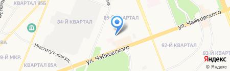 Детский сад №37 на карте Ангарска