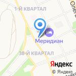 Ангарский городской суд Иркутской области на карте Ангарска