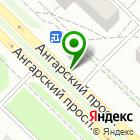 Местоположение компании Ангарский