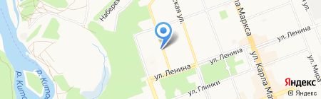 Школа предпринимателей на карте Ангарска