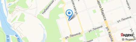 Кондитерский цех на карте Ангарска