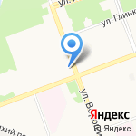 Московский передвижной дельфинарий на карте Ангарска