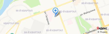 Лингва Сити на карте Ангарска